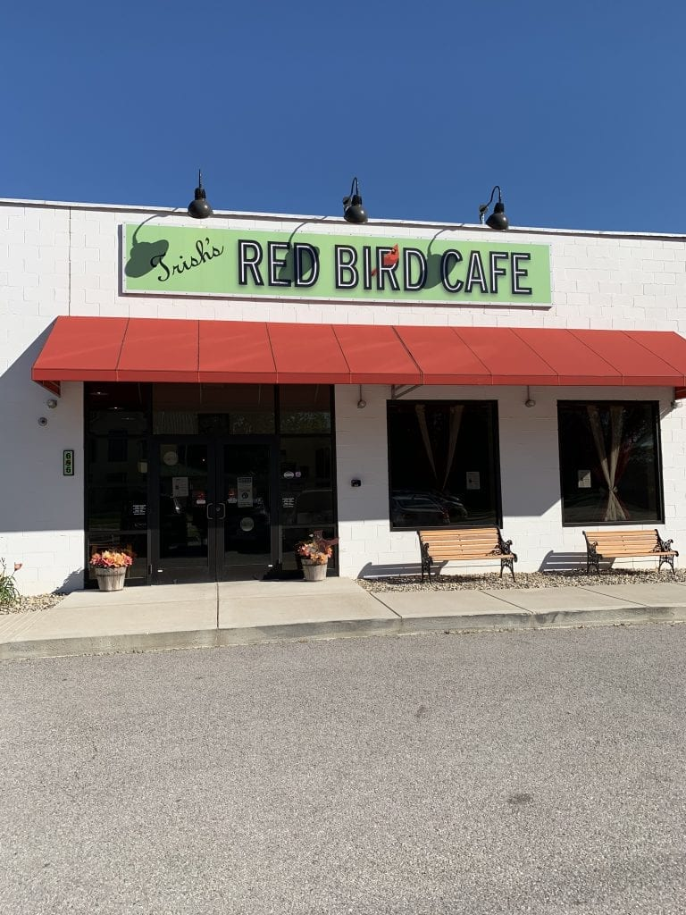 Trish's Red Bird Cafe:  Excellent food, great atmosphere, wonderful employees.